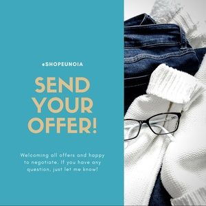 Tops - Welcoming All Offers at Shopeunoia Closet!